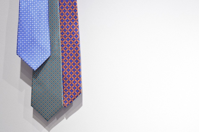 ステファノリッチのネクタイ